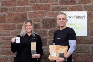 Calderwood Coffee Online Launch_4816Rin Columbi and Rachel Holliday Calderwood House Coffee Online