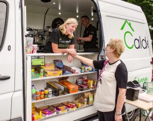 Calderwood House Coffee Van Homeless Solutions Cumbria