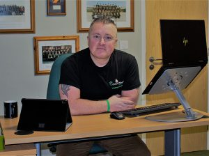 Stephen Pettit Manager Calderwood House Homeless Hostel West Cumbria #HDYDY