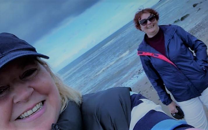 Kate Wilson and Dianne Richardson talk Calderwood House and Room Sponsorship Cumbria 3