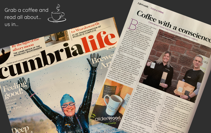 Grab a coffee and read all about us