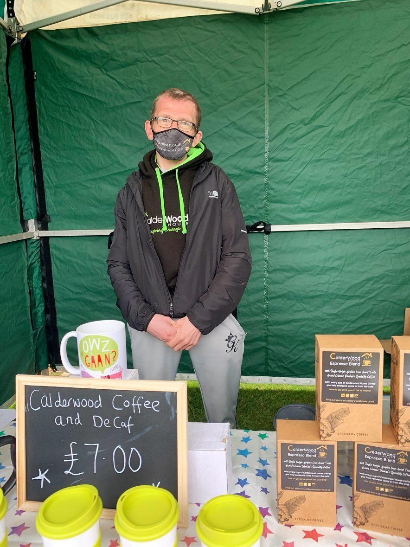 Ian Duncan Traders Market Calderwood House Whitehaven event
